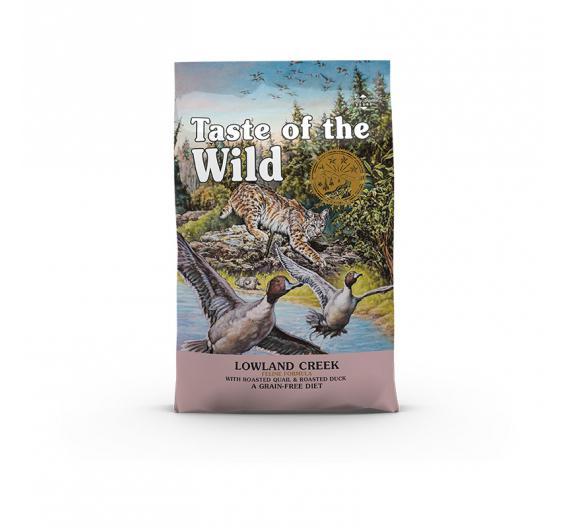Taste of the Wild Cat Lowland Creek Ορτύκι & Πάπια 2kg