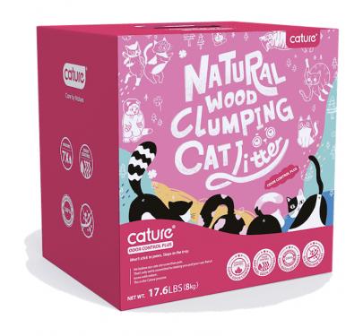 Cature Πέλλετ Γάτας με Ενεργό Άνθρακα Odor Controlplus 20L