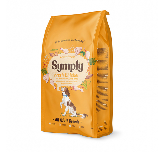 Symply Fresh Chicken Adult All Breeds 12kg
