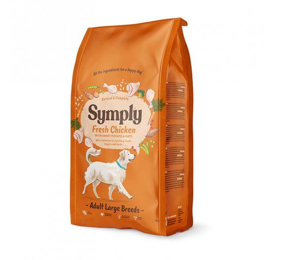 Symply Fresh Chicken Adult Large Breed 12kg