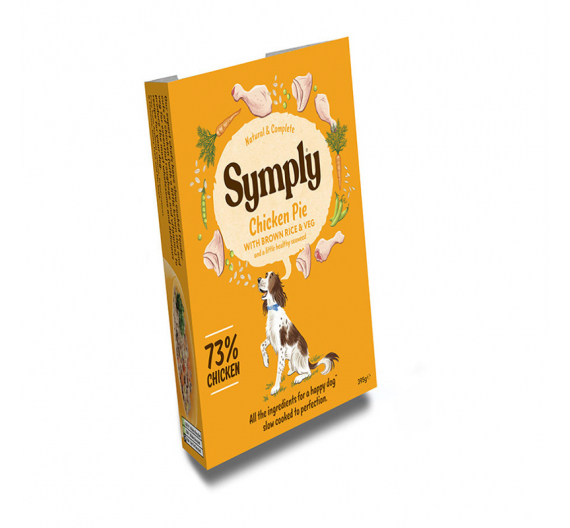 Symply Tray Adult Chicken Pie 395gr