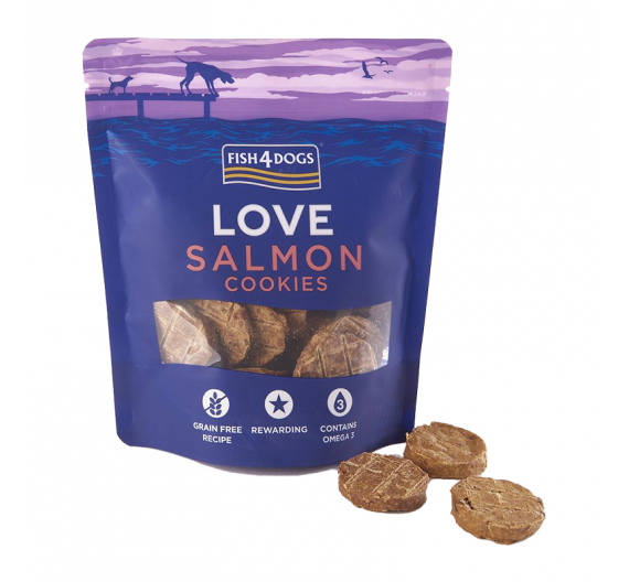 Fish4Dogs Salmon Cookies 75gr
