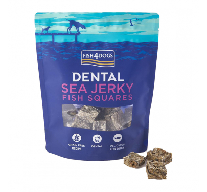 Fish4Dogs Sea Jerky Squares 100gr