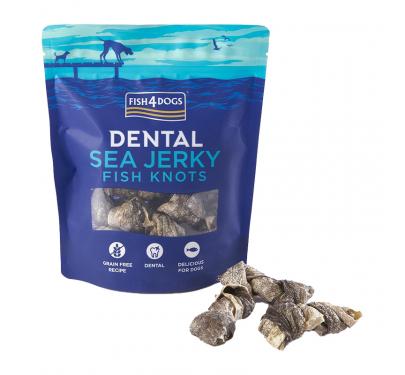 Fish4Dogs Sea Jerky Fish Bones/Knots 100gr