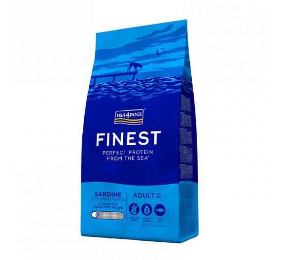 Fish4dogs Finest Sardine Adult Large 6kg