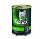Reflex Plus Cat Κομματάκια Κοτόπουλο σε Πατέ 400gr