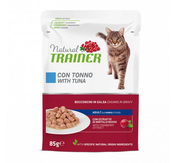 Natural Trainer Cat Adult Τόνος 85gr