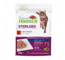 Natural Trainer Cat Sterilised Βοδινό 85gr