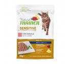Natural Trainer Cat Sensitive Χοιρινό 85gr