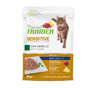 Natural Trainer Cat Sensitive Αρνί 85gr