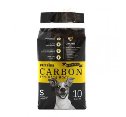 Puppies Premium Εκπαιδευτικές Πάνες με Ενεργό Άνθρακα 10τμχ