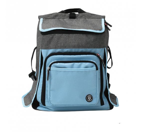 FoFos Τρόλευ Τσάντα Μεταφοράς Μπλε 50x30x29cm