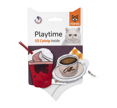 FoFos Παιχνίδι Γάτας Ice Cream & Coffee (2 τμχ)