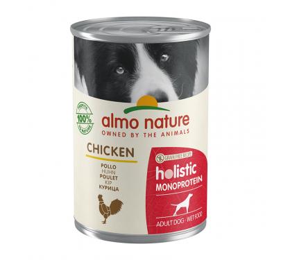 Almo Nature Κονσέρβα Πατέ Μονοπρωτεϊνική Κοτόπουλο 400gr