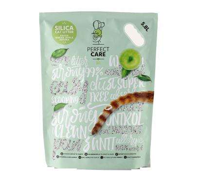 Perfect Care Άμμος Γάτας Σιλικόνης Με Άρωμα Πράσινο Μήλο 5.8 L