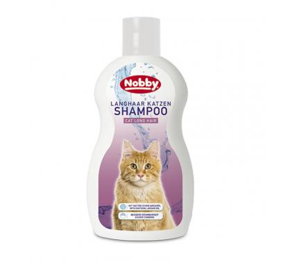Nobby Σαμπουάν Για Μακρύτριχες Γάτες Με Έλαιο Argan 300ml