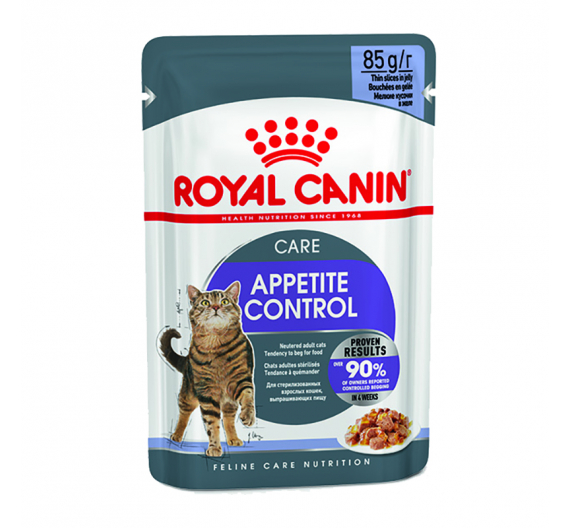 Royal Canin Wet Sterilised Appetite Control Jelly 85gr