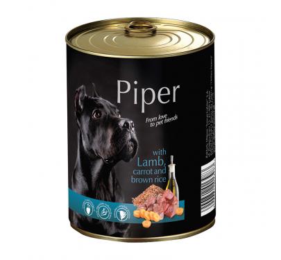 Piper Adult Αρνί & Καρότο & Καστανό Ρύζι 400gr