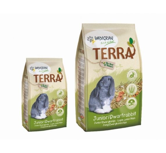 Vadi Terra Junior & Dwarf Rabbit Μίνι Κουνέλι 1Kg