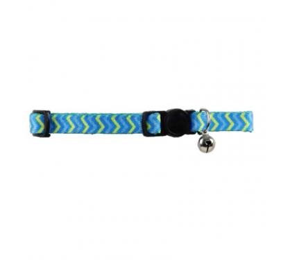 Pawise Περιλαίμιο Με Κουδουνάκι Ripple Μπλε 30cm