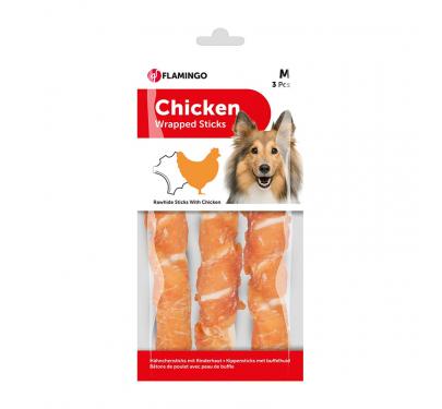Flamingo Chicken Wrapped Sticks 17εκ. 3τμχ