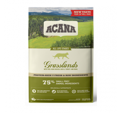 Acana Grasslands Cat & Kitten 4.5kg