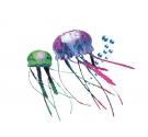 Fantasy Aqua Decor Jellyfish Green/Red