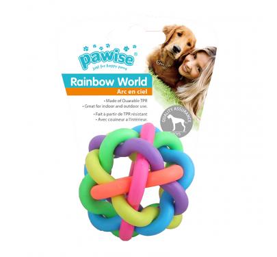 Pawise Παιχνίδι Rainbow World Μπάλα Με Κουδουνάκι