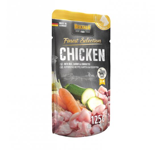 Belcando Φακελάκι Finest Selection Κοτόπουλο 125gr