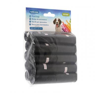 Σακούλες Απορριμάτων Μαύρες 20x15 τμχ