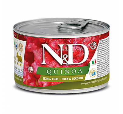 N&D Quinoa Grain Free Skin & Coat Duck Mini 140gr