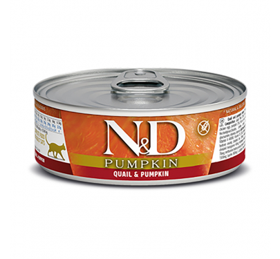 N&D Pumpkin Grain Free Quail 80gr