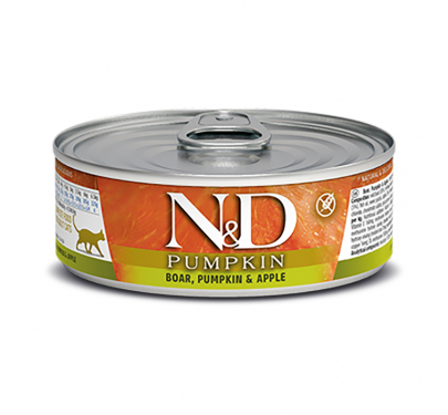 N&D Pumpkin Grain Free Boar & Apple 80gr
