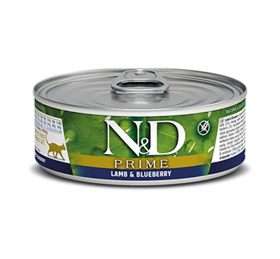 N&D Prime Grain Free Lamb & Blueberry 80gr