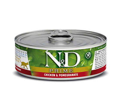 N&D Prime Grain Free Chicken & Pomegranate 80gr