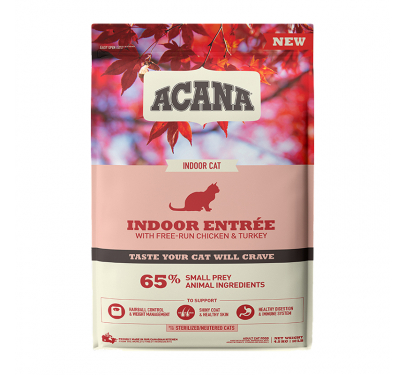 Acana Indoor Entrée Adult Sterilised 1.8kg