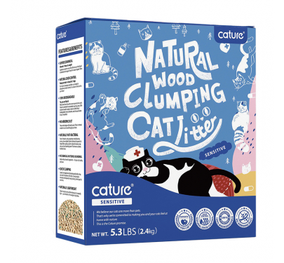 Cature Πέλλετ Γάτας Sensitive Pellet 6L