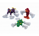 NOBBY Latex Toy, Animals w/ Rope