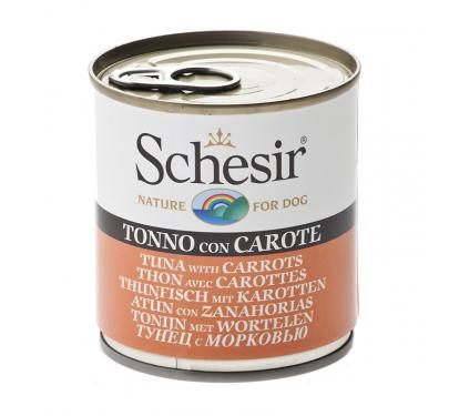 Schesir Dog Τόνος με Καρότα 285gr