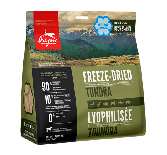 Orijen Freeze Dried Tundra 170gr