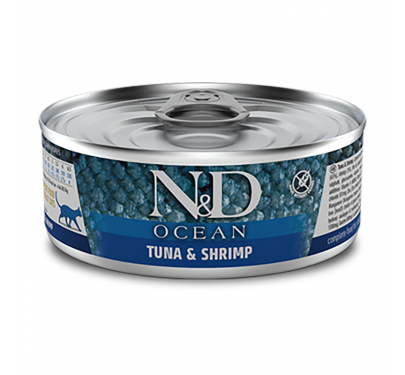 N&D Ocean Tuna, Sardines & Shrimp 80gr