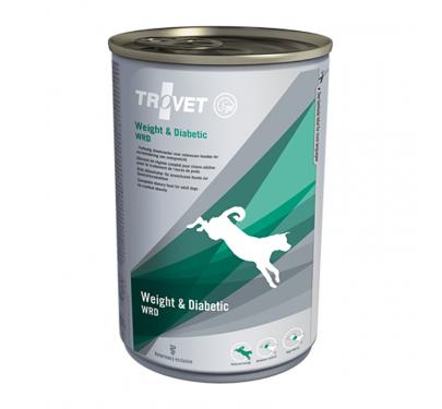 Trovet Weight & Diabetic Dog 400gr