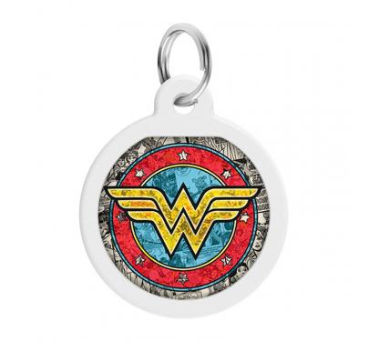 Wau Dog Μεταλλική Ταυτότητα 25mm Wonder Woman 2 με Smart ID