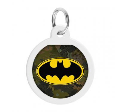 Wau Dog Μεταλλική Ταυτότητα 25mm Batman Green με Smart ID
