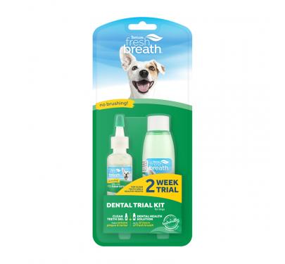 Tropiclean Clean Teeth Oral Care Σετ Δοκιμής 2 Εβδομάδων