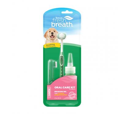 Tropiclean Oral Care Κιτ Στοματικής Υγιεινής Για Κουτάβια