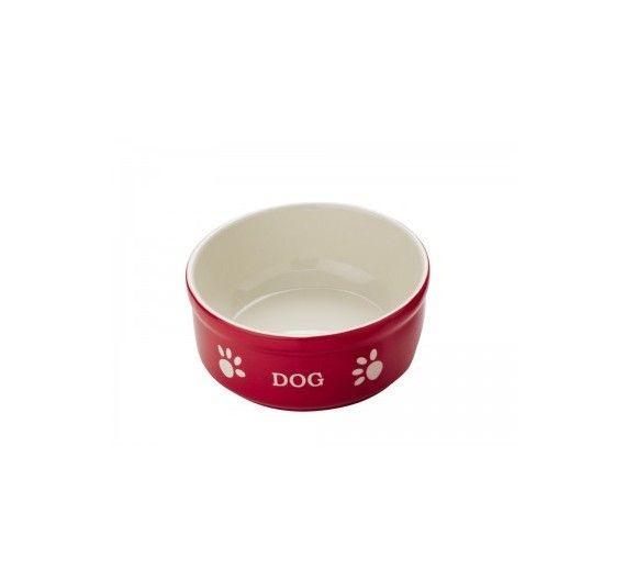 Nobby Κεραμικό Μπολ Dog Κόκκινο large
