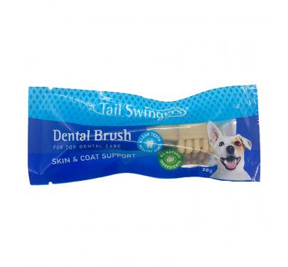 Tail Swingers Dental Brush Skin & Coat Support 7cm 20gr