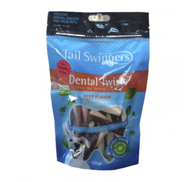 Tail Swingers Dental Twists με Μοσχάρι 130gr Small Breeds
