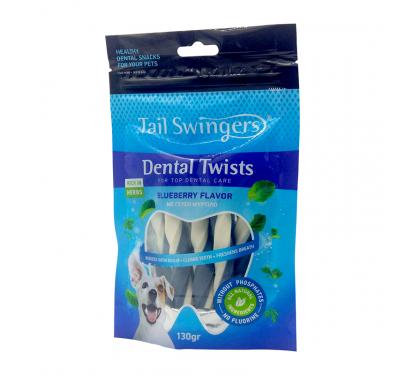 Tail Swingers Dental Twists Μύρτιλο 130gr